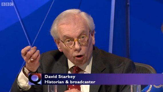 David Starkey Describes Himself As '*The* Historian', And A 'Great' One