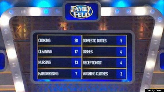 Family Feud Sexism Firestorm After Game Show Asks 'What's A Woman's Job' And Gets Cooking And Cleaning...