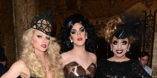Taping of RuPaul's Drag Race Season 6 at the Theatre at Ace Hotel on May 6, 2014 in Los Angeles,