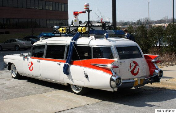 Ghostbusters Reboot: Ecto-1 Revealed By Director Paul Feig Angers