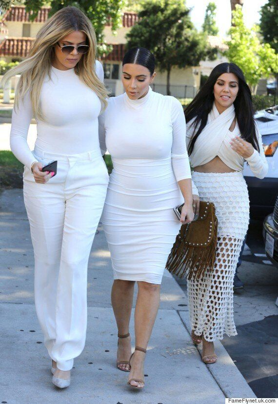 Kourtney Kardashian Is All Smiles With Her Sisters As Kris Jenner Discusses Her Daughter's Split From...