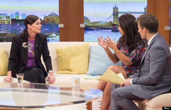 Lisa Stansfield Gets Away With Wearing Naughty 'C****' Necklace On 'Good Morning