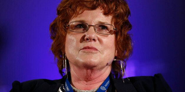 Sharon Bowles, chair of the Economic and Monetary Affairs Committee at the European Parliament, pauses...