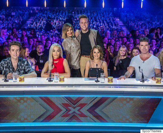 Rita Ora And Nick Grimshaw Join Cheryl Fernandez-Versini And Simon Cowell On 'X Factor' Judging Panel...
