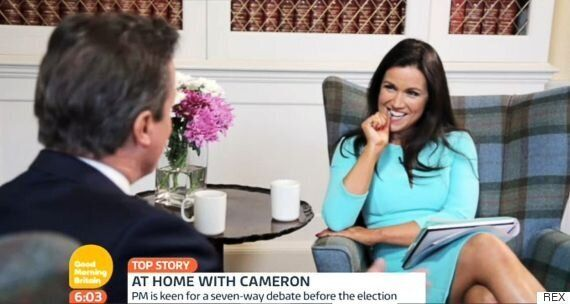 Susanna Reid Insists She's Not Flirting In 'Good Morning Britain' Interviews: 'It Would Look Rude If...