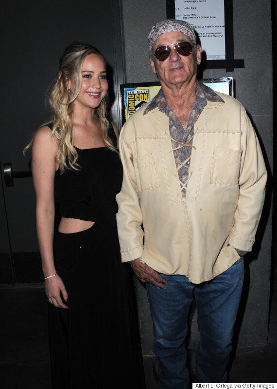 Jennifer Lawrence Meets Bill Murray At Comic-Con, And The Photos Are A Real Treat