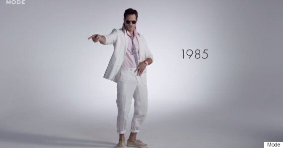 100 Years Of Men's Fashion In Less Than Three