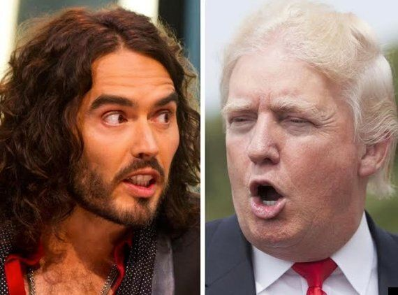 Piers Morgan Vs Russell Brand Vs Donald Trump In: Battle Of The