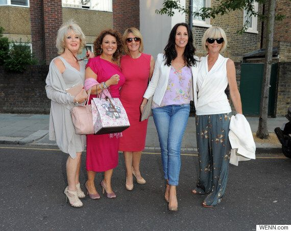 Amanda Holden, Holly Willoughby And Myleene Klass Lead Stars At ITV Summer Garden Party