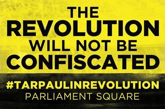 #OccupyDemocracy in Parliament Square: Hands Off Our