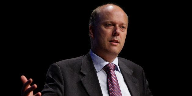 Shadow Home Secretary Chris Grayling speaking at Association of Chief Police Officers' conference in