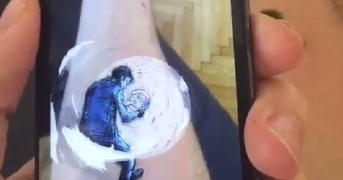 Comic Artist Brings His Tattoo To Life Using Augmented Reality