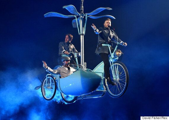 'Take That' Kick Off First Tour Without Jason Orange, Featuring Indoor Rain, Fire... And Some Really,...