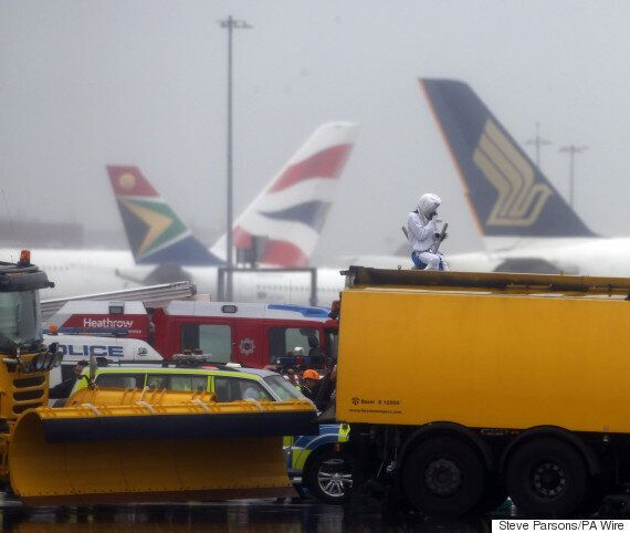 Heathrow Protest Shuts Down Airport Runway After Climate Change Group Cuts Through Security