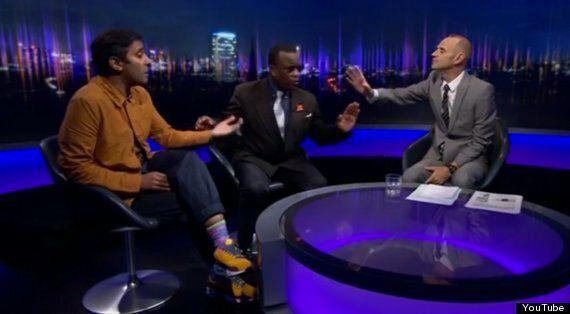 Winston McKenzie Defends The Ukip Calypso In The Most Bizarre Newsnight Debate