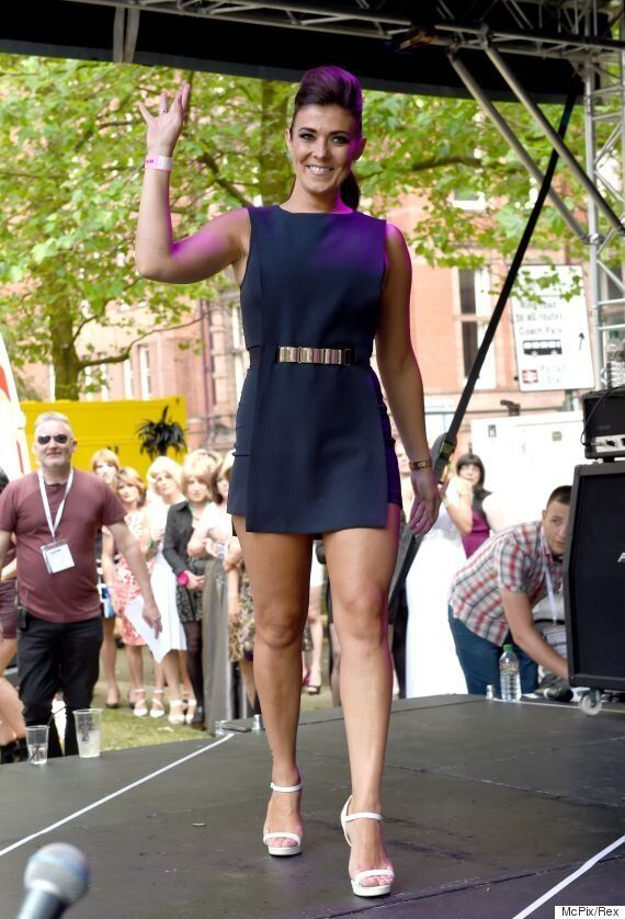 Kym Marsh Joins Daughter Emilie At Sparkle Transgender Festival In Manchester