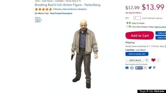 'Breaking Bad' Dolls Removed From Sale By Toys R Us After Online Petition From