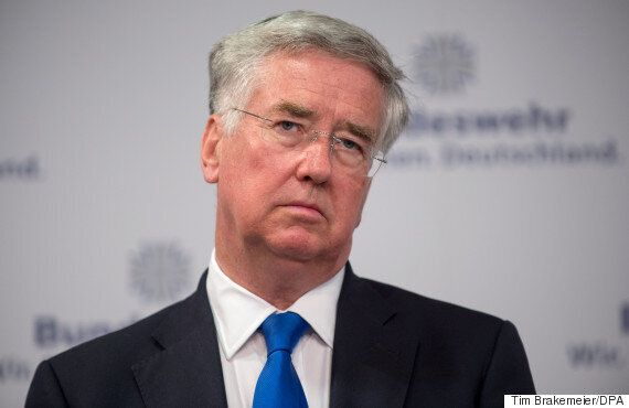 Michael Fallon Refuses To Confirm Tories Will Renew Trident With Labour