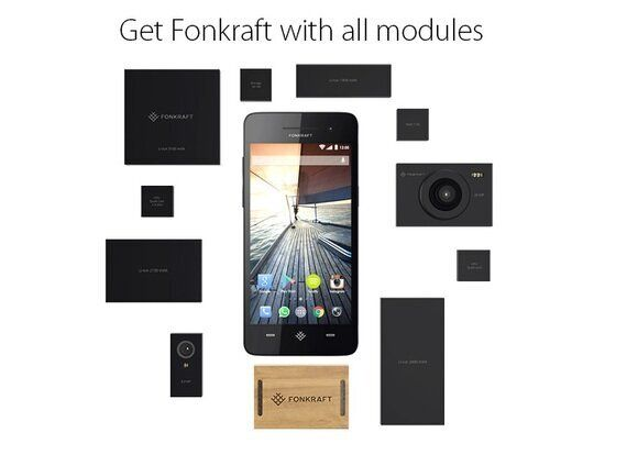 Fonkraft Is a Crowdfunded, Modular Smartphone Taking On Project