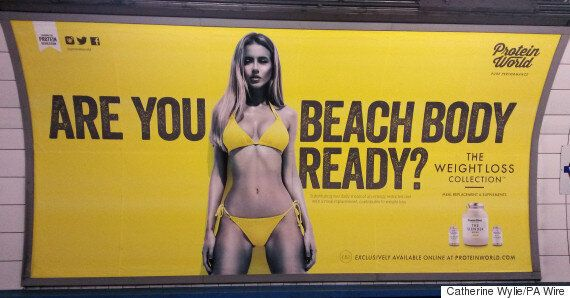 Protein World Controversy: Former 'TOWIE' Star Maria Fowler Weighs In On The 'Are You Beach Body Ready?'...