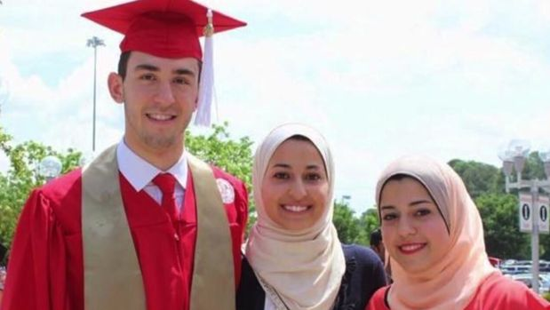 Four years ago, students Deah Barakat, Yusor Abu-Salha and Razan Abu-Salha were murdered in Chapel Hill. The community gathered Sunday to honor their memory at the Day of Light Awards Ceremony.