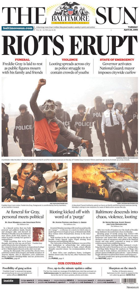 Baltimore Riot Media Coverage Is Neglecting All The Positive Things Going