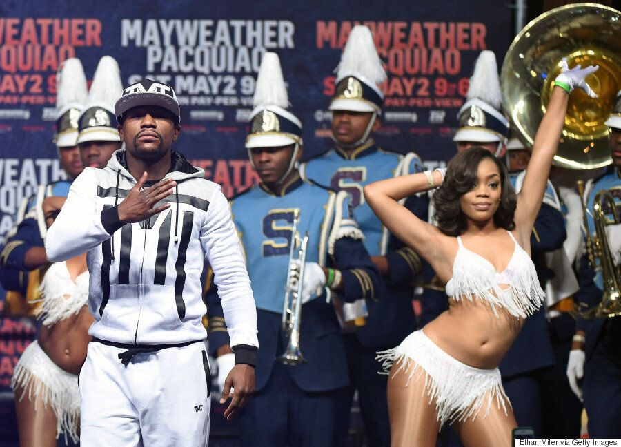 Floyd Mayweather Vs Manny Pacquiao Fight Launch Is A Tale Of Two Very Different