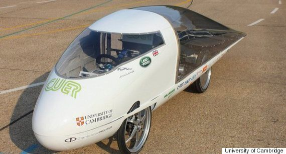 Students From Cambridge University Have Built A Solar-Powered Car And Intend To Race
