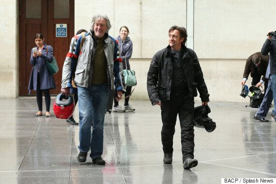 James May And Richard Hammond Spotted At BBC HQ After Ruling Out 'Top Gear' Returns