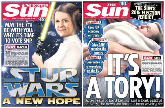The Sun Newspaper Lambasted For Hypocrisy After Backing Rival Parties Across Different