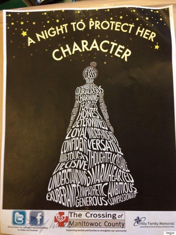 This Was A High School Prom Poster - And It Shames Young