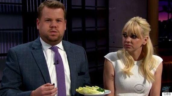 James Corden Eats Fried Tarantula And Cockroach Canapés On 'The Late, Late Show'