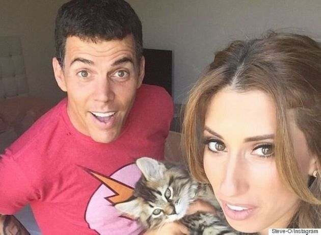 Stacey Solomon's Knife Trick Leaves 'Jackass' Star Steve-O With A Gash In His