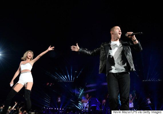 Taylor Swift And Nick Jonas Perform 'Jealous' As They Team Up For Reunion Performance