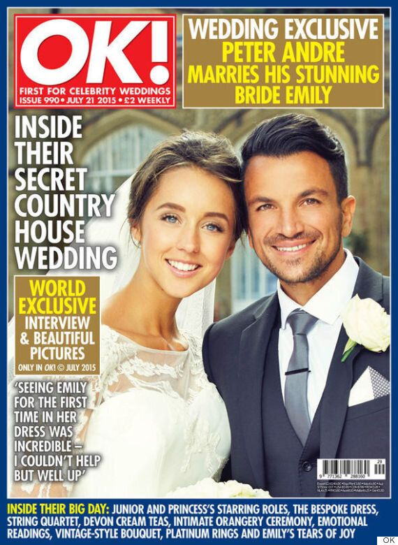 Peter Andre And Emily McDonagh's Wedding Photos Published In OK! Magazine, As They Reveal Details Of...