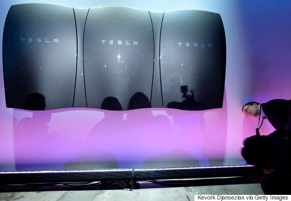 Elon Musk Unveils Tesla's Powerwall Battery And Company's Move Into Renewable