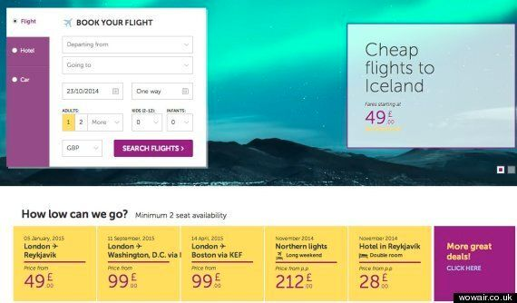 Budget Icelandic Airline WOW Air Launches £99 Flights To US. Yes,