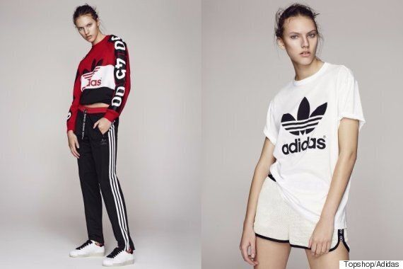 Topshop X Adidas Originals New Collection Has Arrived And It's Selling Out