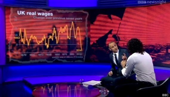 Russell Brand Reveals He Is Open To 9/11 Conspiracy Theories In Combative Newsnight