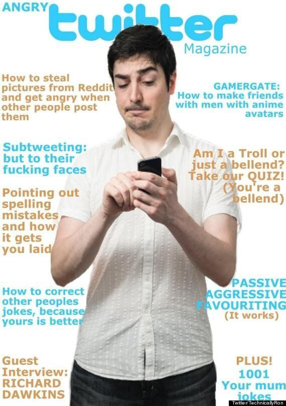 The Magazine 'Angry Twitter' Is For Irate Tweeters