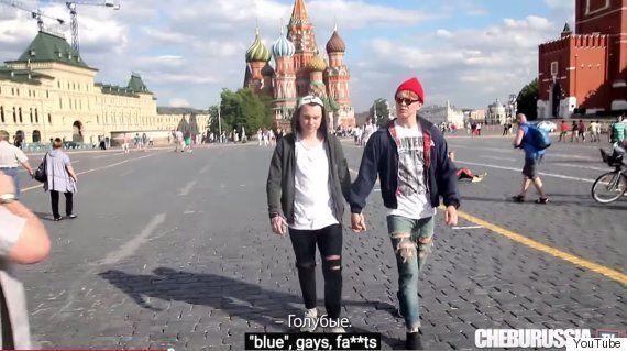 Russian LGBT Social Experiment Highlights Abuse Gay People Face In