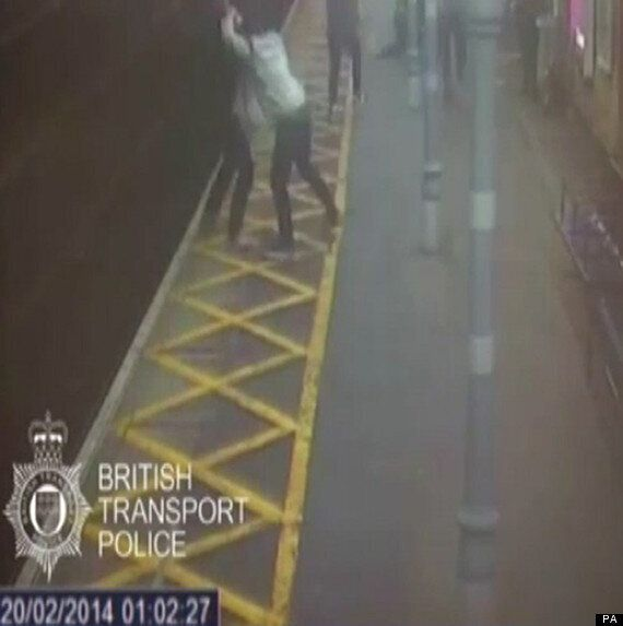 Blind And Deaf Man Pushed Onto Train Tracks Then Punched In The Face As He Tried To