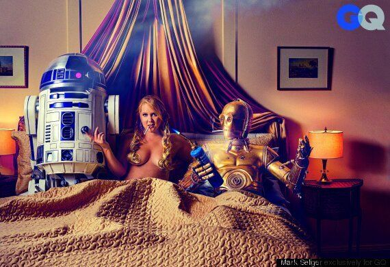 Amy Schumer's GQ Cover Is 'Star Wars'-Themed (And Very Amy