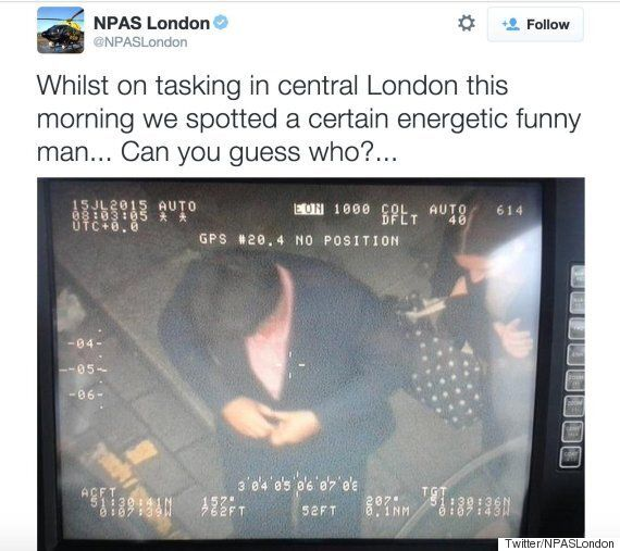 Michael McIntyre Photo Taken By Met Police Helicopter Investigated By