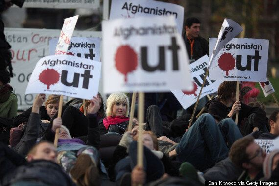 Anti-War Campaigners Says Britain And US 'Failed' In