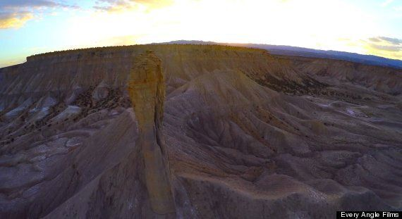 Rogue Drone Spirals Out Of Control During Beautiful Utah