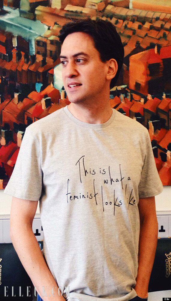 David Cameron Refuses To Wear Elle Magazine's Feminist T-Shirt... Five