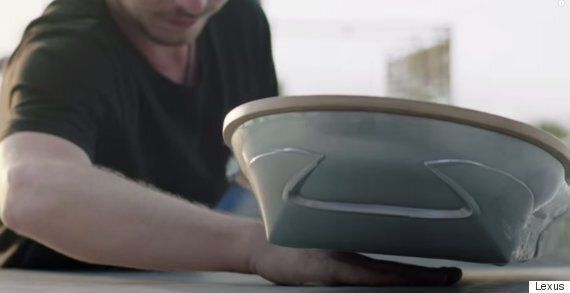 Lexus Proves Its Hoverboard Really Works With This Teasing