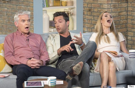 Amanda Holden And Phillip Schofield Left Gobsmaked As Gino D'Acampo Makes Crude Joke On 'This