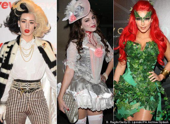 Celebs Do Halloween: Kim Kardashian, Kelly Brook Or Heidi Klum... Which Star Has The Best Costumes?